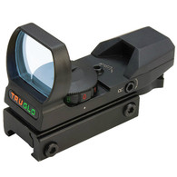 TruGlo Multi-Reticle Dual Color Open Red Dot Sight (TG836OB)