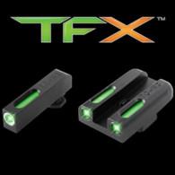 TruGlo TFX XTREME Glock 42/43 Tritium Fiber Optic Sight Set (TG13GL3A)