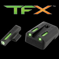 TruGlo TFX XTREME Kimber 1911 Tritium FIber Optic Sight Set (TG13KM1A)