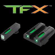 TruGlo TFX XTREME Glock Low Set Tritium Fiber Optic Sight Set (TG13GL1A)
