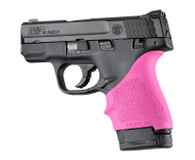 Hogue HANDALL S&W9 M&P Shield/Ruger LC9 Beavertail Grip Sleeve-Pink (18407)