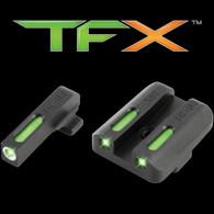 TruGlo TFX Springfield Armory XD Series Tritium Fiber Optic Sight Set (TG13XD1A)