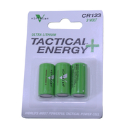Viridian Tactical Energy Ultra Lithium CR123 3V Batteries Pack of 3 (VIR-CR123-3)