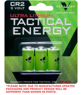 Viridian Tactical Energy Ultra Lithium CR2 3V Batteries Pack of 3 (VIR-CR2-3)