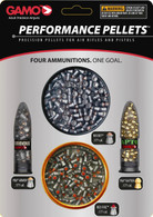 GAMO Performance Pellets Combo Pack .177 Cal-Multiple Styles (632092854)