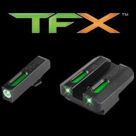 TruGlo TFX Walther P99/PPQ Tritium Fiber Optic XTREME Sight Set (TG13WA1A)