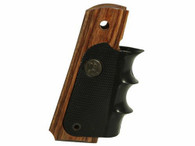 Pachmayr American Legend Heritage Walnut Laminate/Rubber Full Size 1911 Grip (00434)