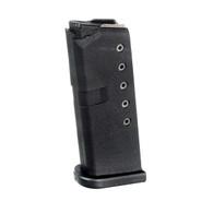 ProMag Glock 42 Magazine 6 Round .380 ACP Mag-Black Polymer (GLK 10)