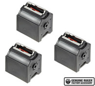 Ruger BX-1 10/22 Rotary Magazine 10 Round .22 LR Mag Value 3 Pack (90451)