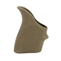 Hogue HANDALL S&W M&P Shield 45/KAHR P/CW 9/40 Beavertail Grip Sleeve-FDE (18303)