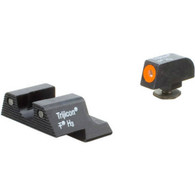Trijicon Glock 42/43 HD Tritium Night Sight Set W/Orange Ring (GL113-C-600785)