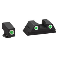 Ameriglo Glock 42/43 Classic 3 Dot Tritium Night Sights W/White Outline (GL-430)