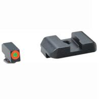 Ameriglo Glock Hackathorn Tritium Front Sight W/Orange Ring/Serrated Rear (GL-433)