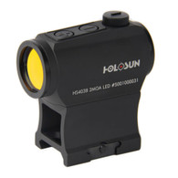 Holosun Micro Red Dot Sight-2 MOA Dot-Battery Powered (HS403B)
