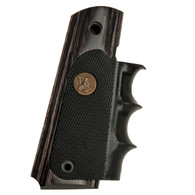 Pachmayr American Legend 1911 Full Size Grip-Charcoal Silvertone (00433)