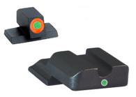 AmeriGlo S&W M&P Shield Pro I-Dot Tritium Night Sight Set  (SW-245)