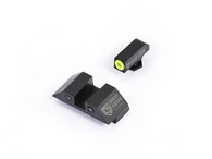 Night Fision Glock Low Night Sight Set W/Yellow Front Ring (GLK-001-003-YZX)