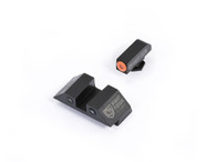 Night Fision Glock High Night Sight Set W/Orange Front Ring (GLK-002-003-OZX)