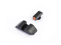 Night Fision Glock Low Night Sight Set W/Orange Front Ring (GLK-001-003-OZX)
