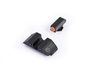 Night Fision Glock High Night Sight Set W/Orange Front Ring (GLK-002-007-OZX)