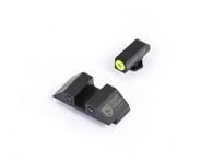 Night Fision Glock 42/43 Night Sight Set W/Yellow Front Ring (GLK-003-003-YZX)