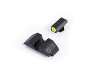 Night Fision Glock Low Night Sight Set W/Yellow Front Ring (GLK-001-007-YZX)