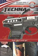 Techna-Clip Ruger SR9 & SR9C Conceal Carry Belt Clip-Ambi (SR9BA)