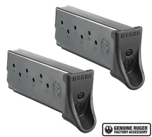 Ruger LC9/LC9s/EC9s Magazine 9mm 7 Round Factory Mag-Value 2 Pack (90642)