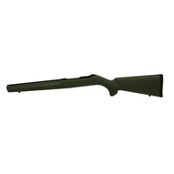 Hogue 10/22 Overmolded Stock Rubber, Standard Barrel, Olive Drab Green-22200