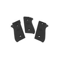 Hogue Rubber Grip Panels For Taurus PT-92/99/100/101-Black (99010)