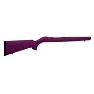 Hogue 10/22 Overmolded Stock Tac Thumbhole, .920 Barrel, Purple-22076