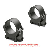 Leupold QRW2 30mm Quick Release Steel Scope Rings-High Height-Matte Blk (174078)