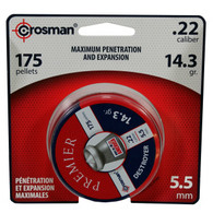 Crosman Destroyer .22 Cal 5.5mm Pointed Lead Pellets-175 Pack (DES22)