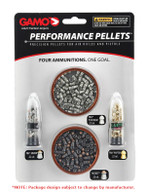 Gamo Performance Pellets Combo Pack .22 Cal-4 Varieties (63209285554)