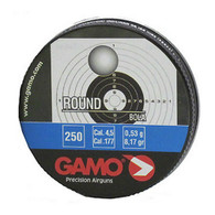 Gamo Round Lead BB Pellets .177 Cal 4.5mm-Tin of 250 (632032454)