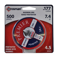 Crosman .177 Caliber 4.5mm Pointed Lead Pellets-Pack of 500 (7-P577)