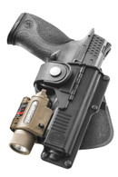 Fobus Tactical Paddle Holster For Glock 19/23/32 W/Light/Laser-Right Hand (RBT19)