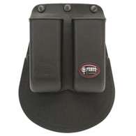 Fobus Double Mag Pouch For .22 & .380 Caliber Single Stack Magazines (6922P)