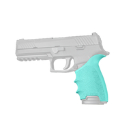Hogue HANDALL Beavertail Grip Sleeve For Sig Sauer P320 Full Size-Aqua (17604)
