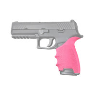 Hogue HANDALL Beavertail Grip Sleeve For Sig Sauer P320 Full Size-Pink (17607)