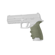 Hogue HANDALL Beavertail Grip Sleeve For Sig Sauer P320 Full Size-OD Green (17601)