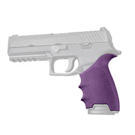 Hogue HANDALL Beavertail Grip Sleeve For Sig Sauer P320 Full Size-Purple (17606)