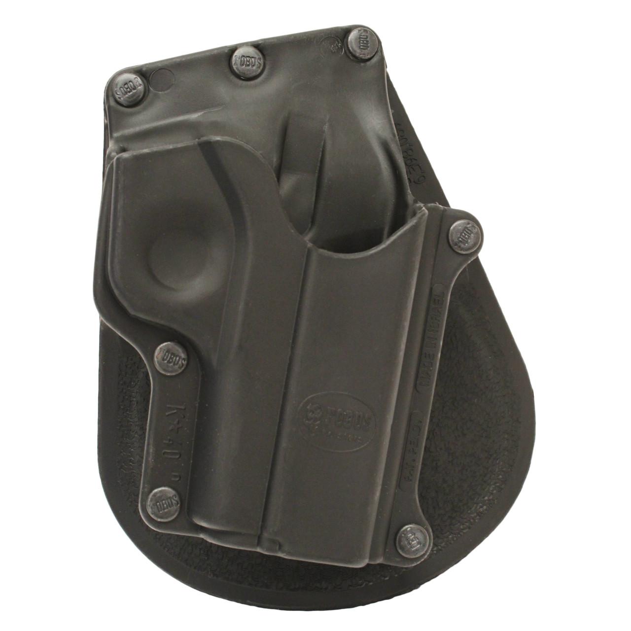 Fobus Paddle Holster For Kahr K40/K9/MK40/MK9/T40-Right Hand (KA1)
