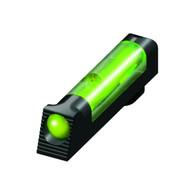 HIVIZ Sights Fiber Optic Front Sight For All Glock Models Except 42/43-Green (GL2009-G)