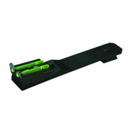 "HIVIZ Fiber Optic Universal 3/8"" Dovetail Rear Rifle Sight-Green (UNI2006)"