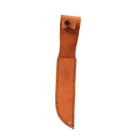 "Ka-Bar Brown Leather Sheath For Knives W/7"" Blade & Double Guard  (1217I)"