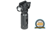 Leapers UTG New Gen 400 Lumen Grip/Light Combo-Quick Disconnect (MNT-EL228GPQ-A)