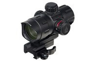 "Leapers UTG 4.2"" CQB Red/Green T-Dot W/QD Mount & Riser Adaptor (SCP-DS3840TDQ)"