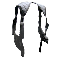 Leapers UTG Universal Horizontal Shoulder Holster-Black (PVC-H170B)