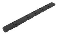 "Leapers UTG Low Profile Keymod Rail Panel Covers-5.5""-Black-Pack of 7 (RB-HP25B)"